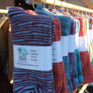 Hand Made Wool Socks